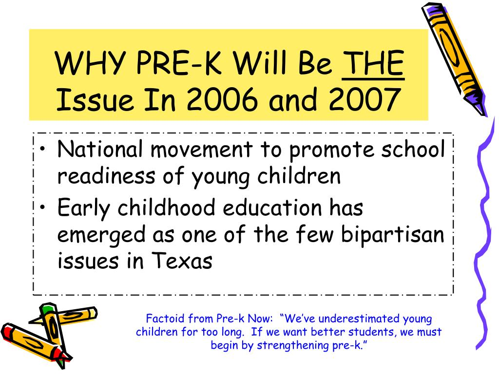 WHY PRE-K Will Be