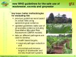 new who guidelines for the safe use of wastewater excreta and greywater7