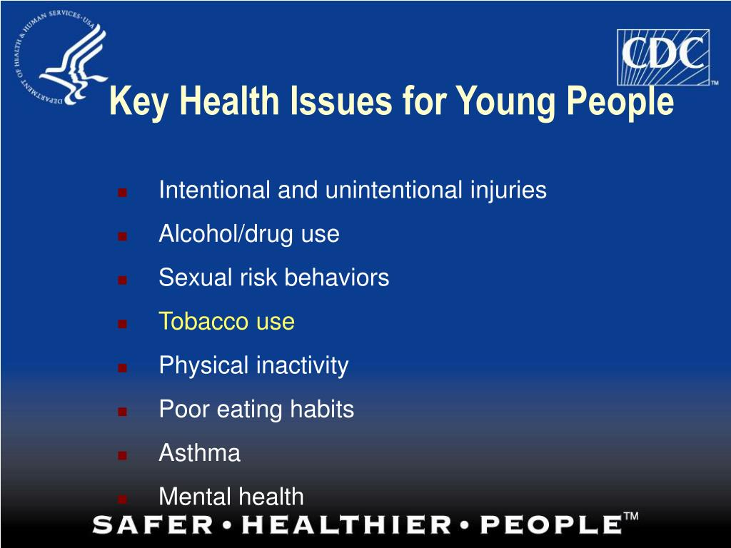 Key Health Issues for Young People
