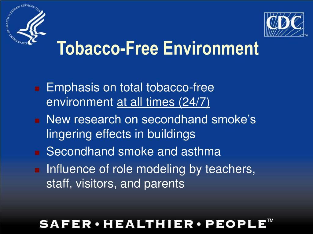 Tobacco-Free Environment