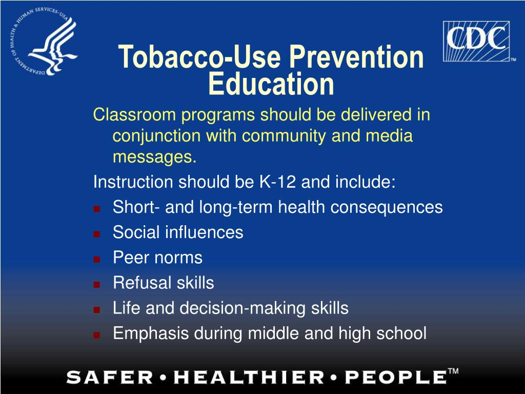 Tobacco-Use Prevention Education