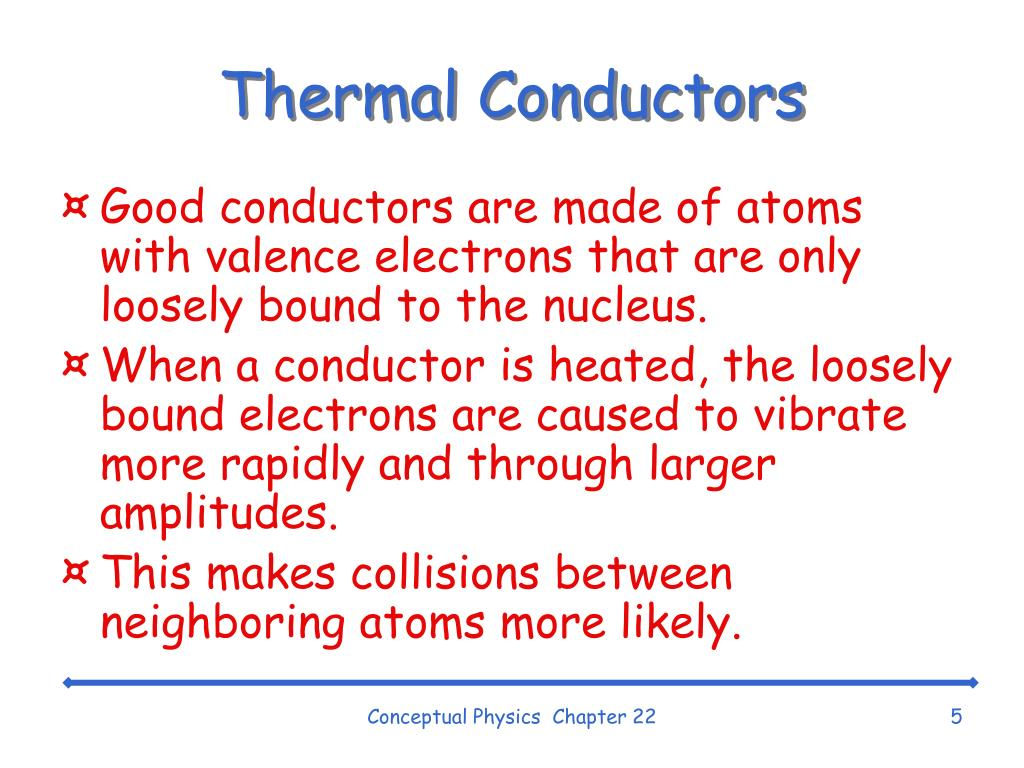 Thermal Conductors