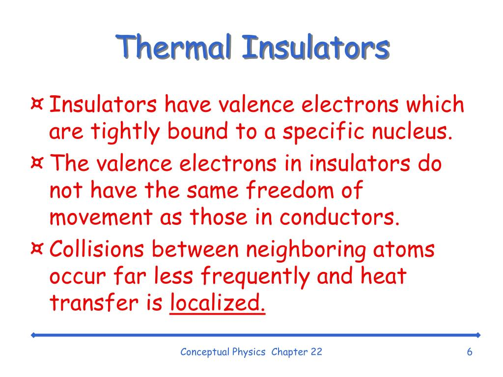 Thermal Insulators