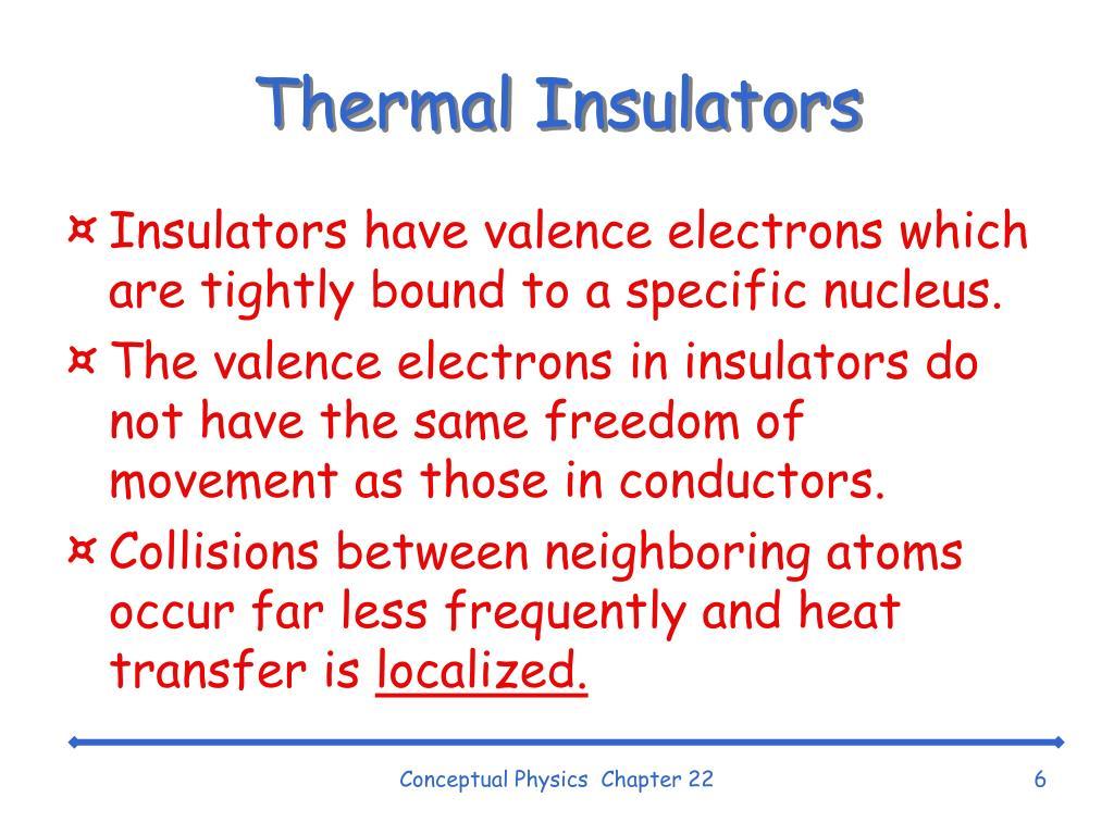 Thermal Insulators