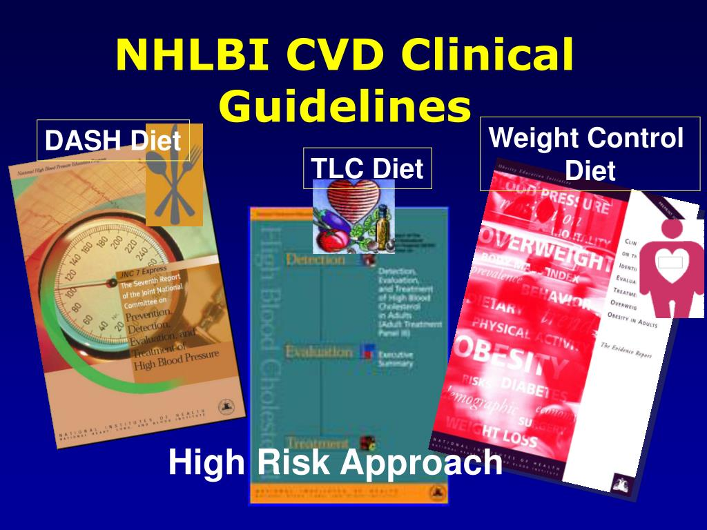 NHLBI CVD Clinical Guidelines