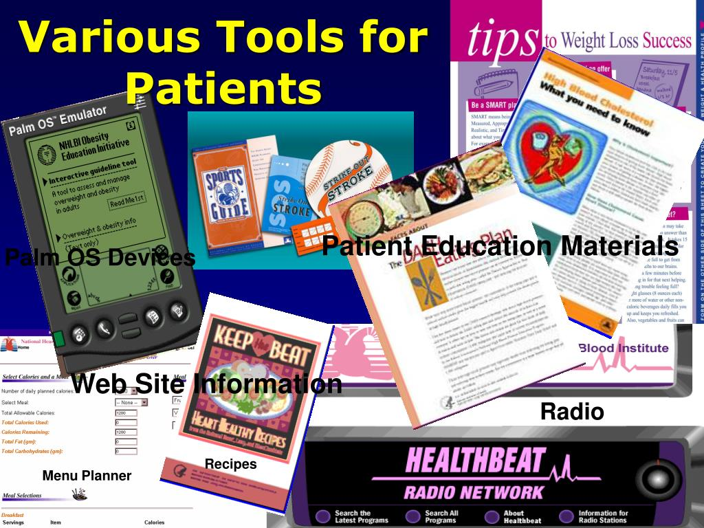 Various Tools for Patients