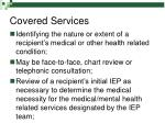 covered services48