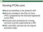nursing pcas cont11