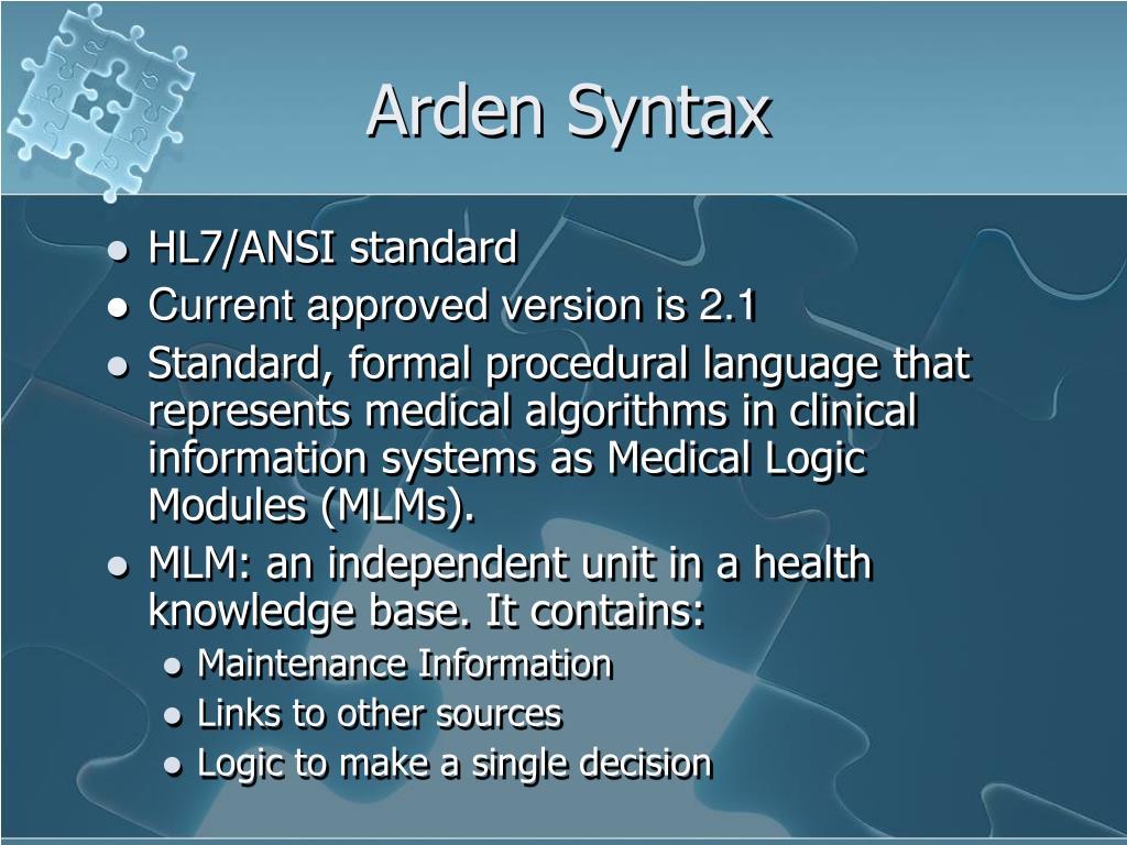 Arden Syntax