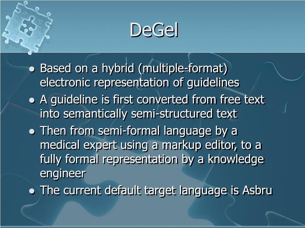 DeGel