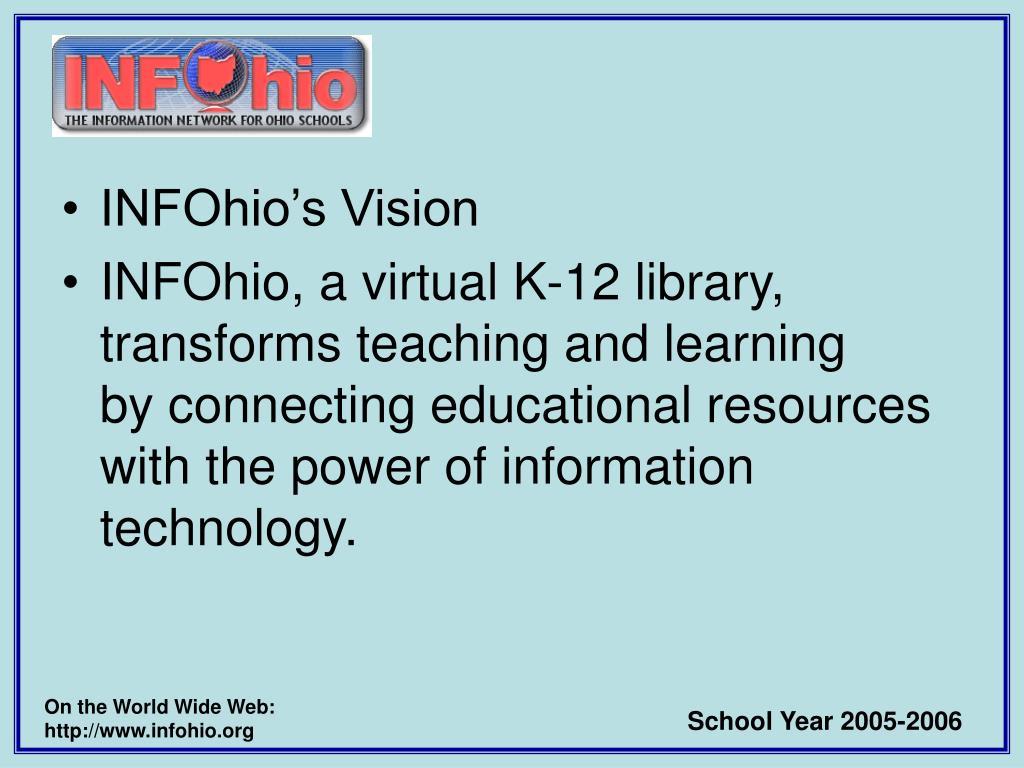 INFOhio's Vision