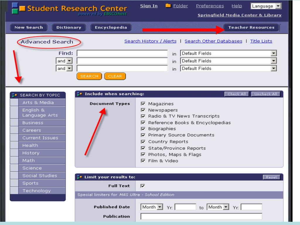 On the World Wide Web: http://www.infohio.org