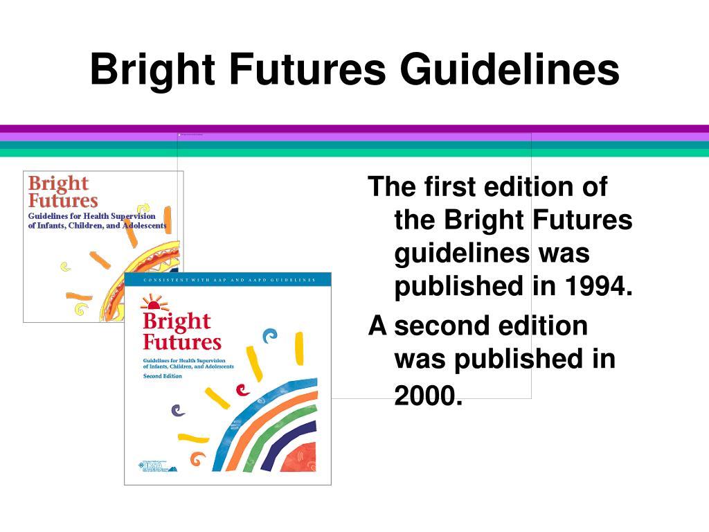 Bright Futures Guidelines