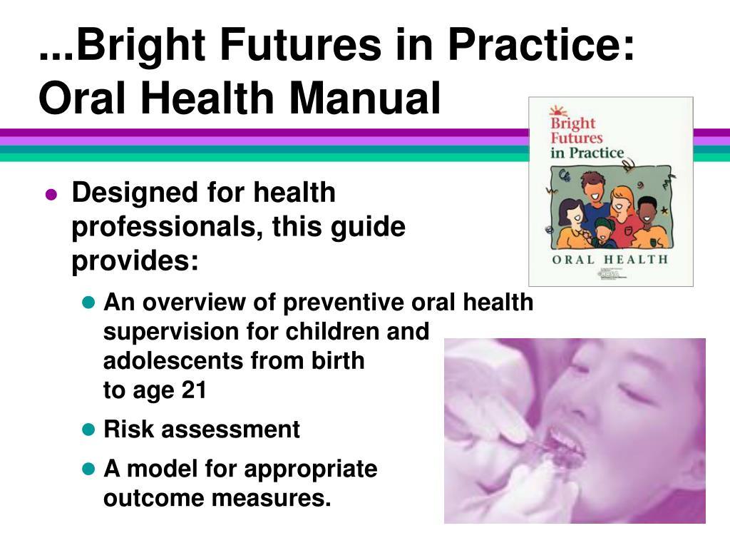 ...Bright Futures in Practice: