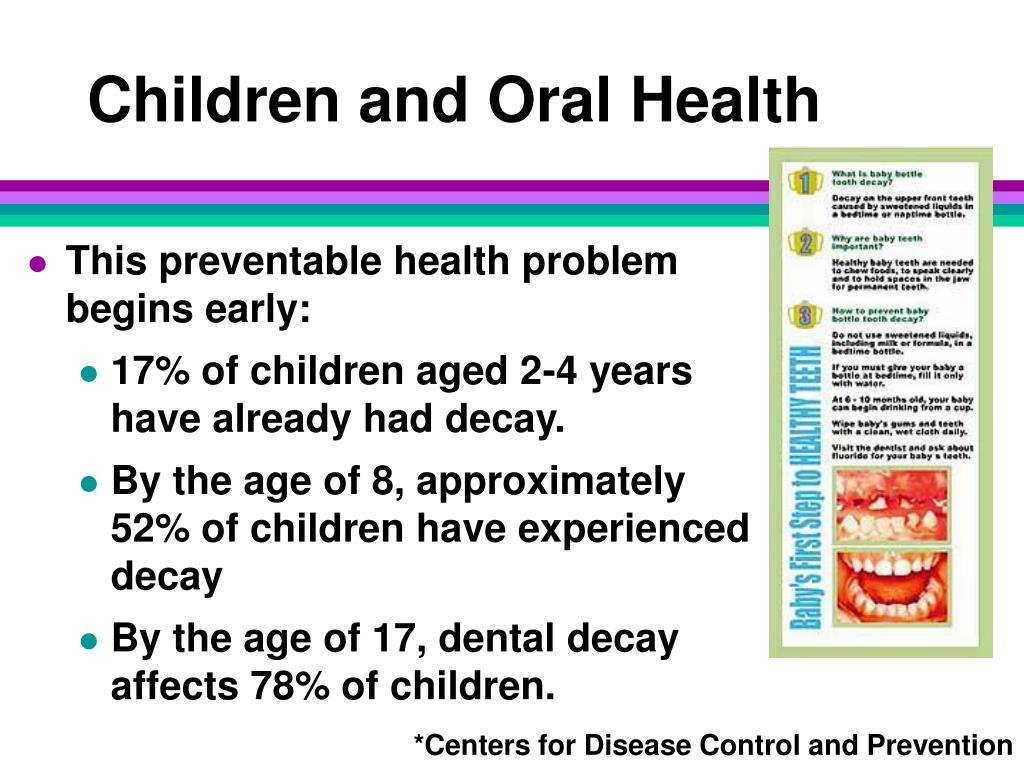 Children and Oral Health