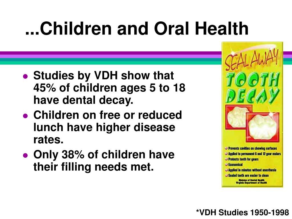 ...Children and Oral Health