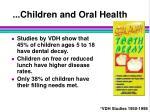 children and oral health26
