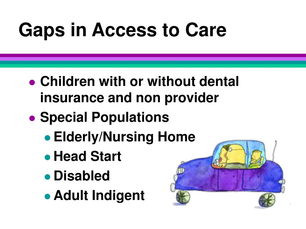 Gaps in Access to Care