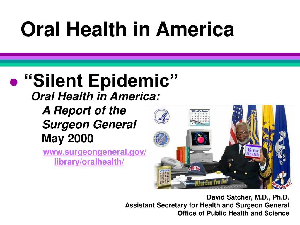 Oral Health in America