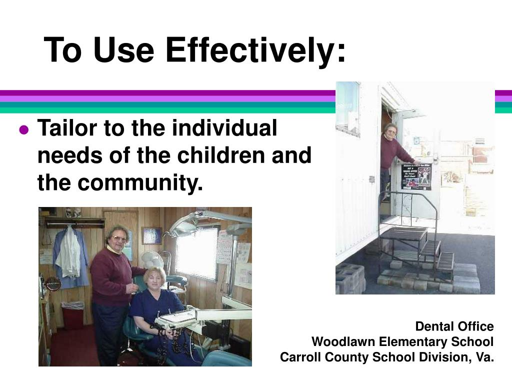 To Use Effectively: