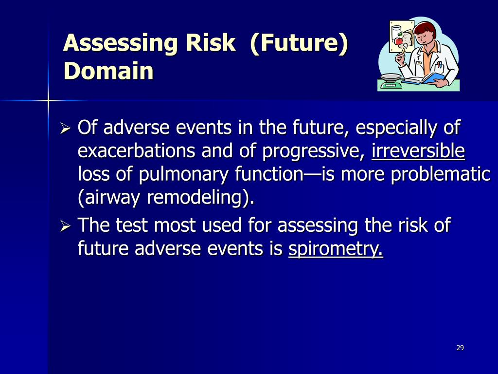 Assessing Risk  (Future)