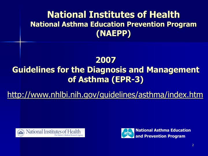 Http www nhlbi nih gov guidelines asthma index htm
