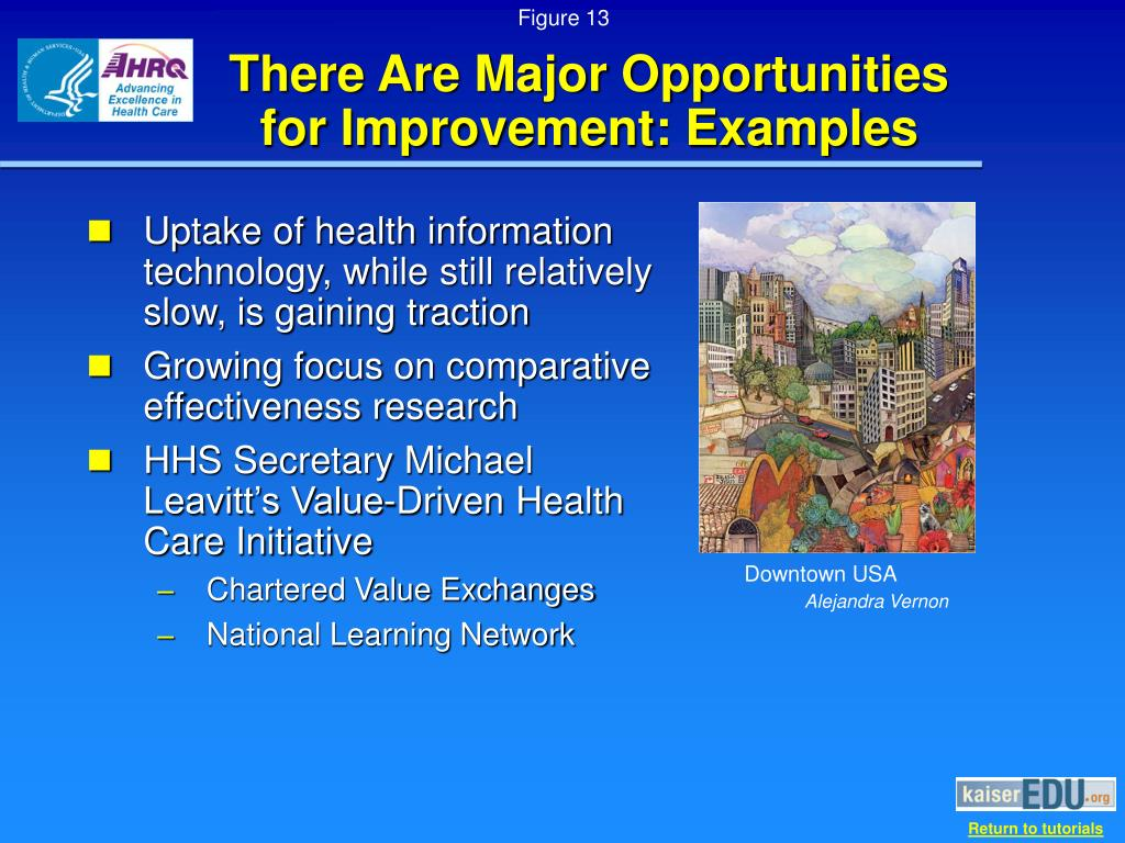 There Are Major Opportunities   for Improvement: Examples