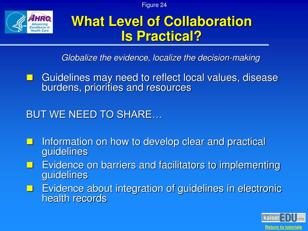 What Level of Collaboration        Is Practical?