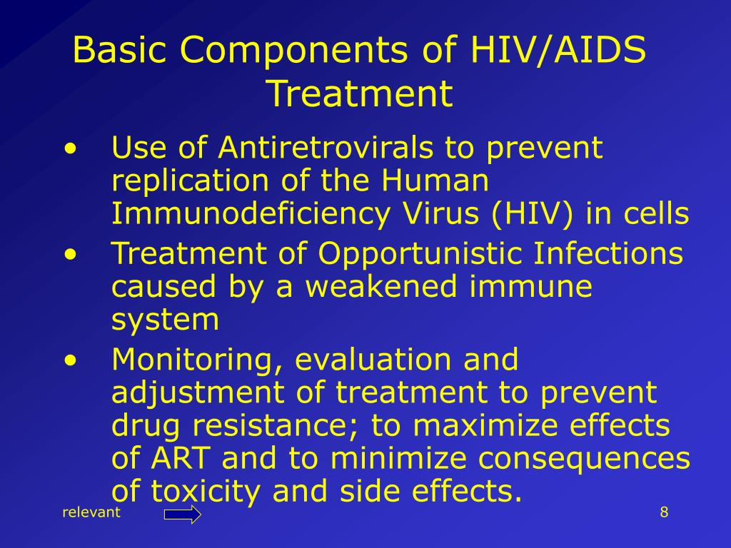 Basic Components of HIV/AIDS Treatment