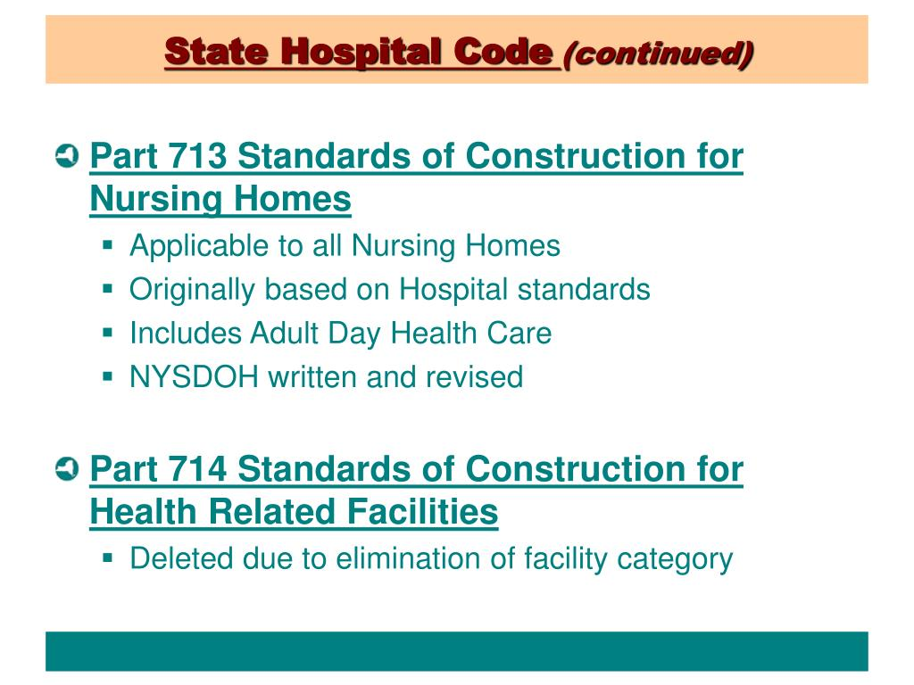 State Hospital Code