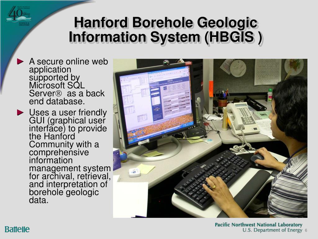 Hanford Borehole Geologic