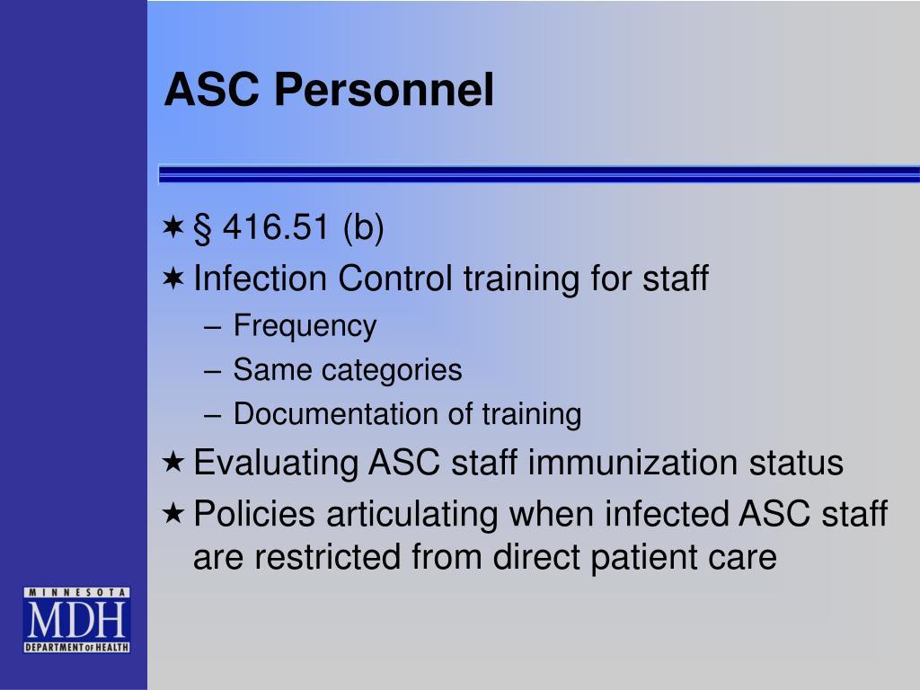 ASC Personnel