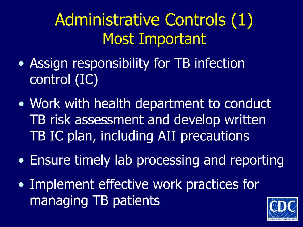 Administrative Controls (1)