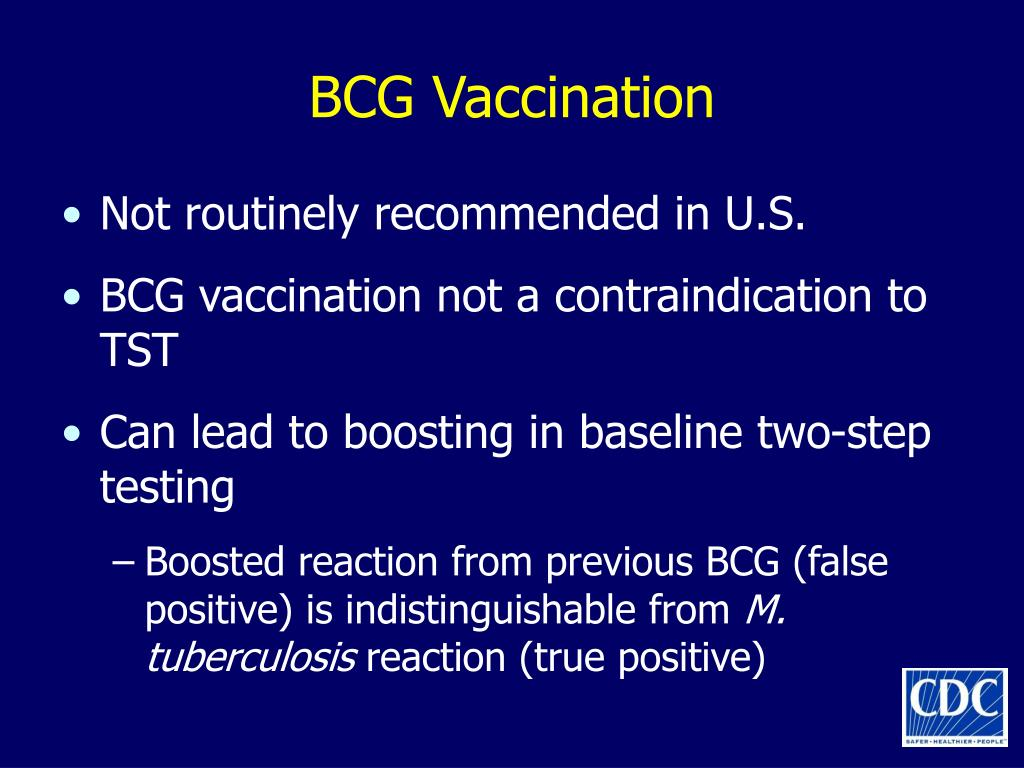 BCG Vaccination