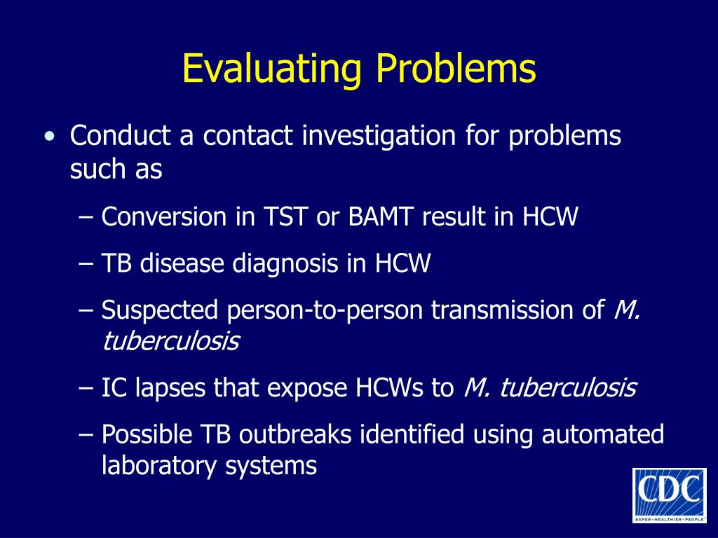 Evaluating Problems