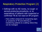 respiratory protection program 2