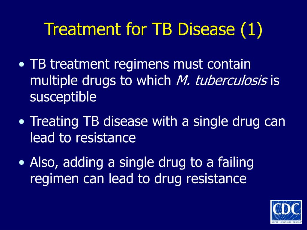 Treatment for TB Disease (1)