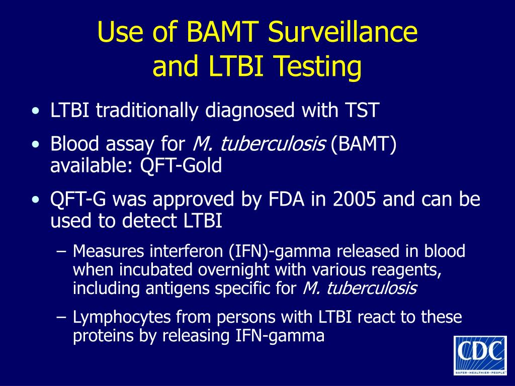 Use of BAMT Surveillance