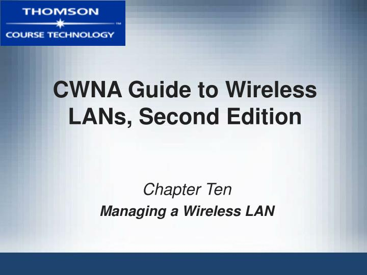 Cwna guide to wireless lans second edition l.jpg