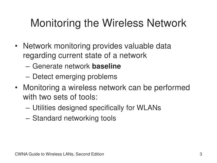 Monitoring the wireless network l.jpg