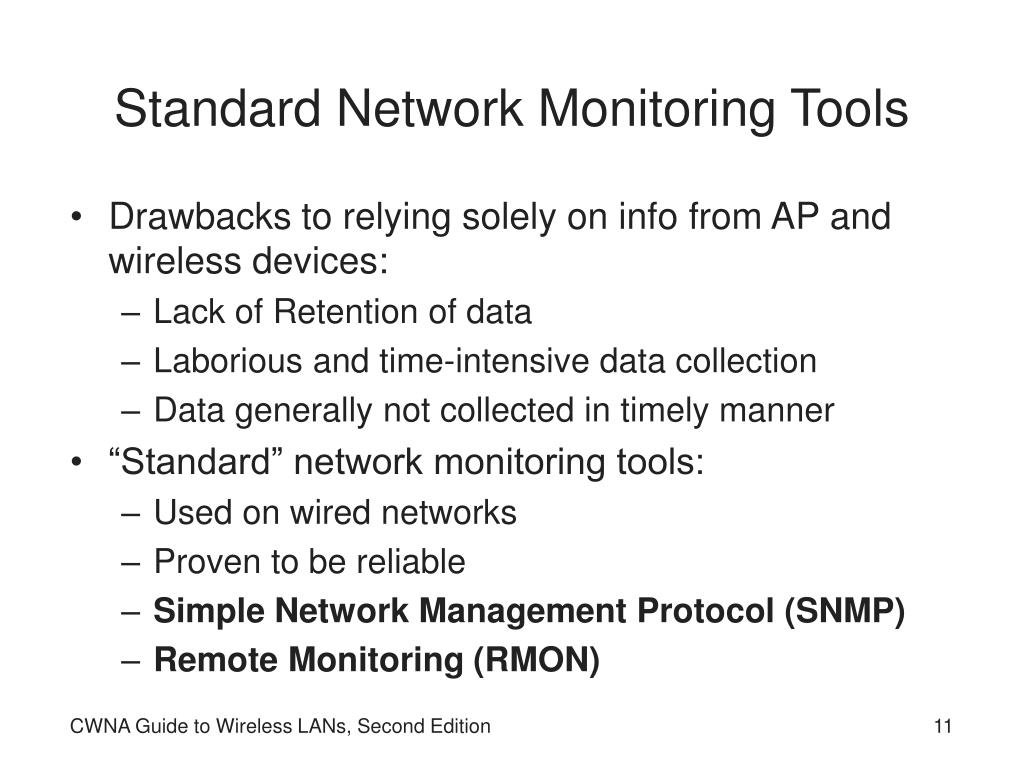 Standard Network Monitoring Tools