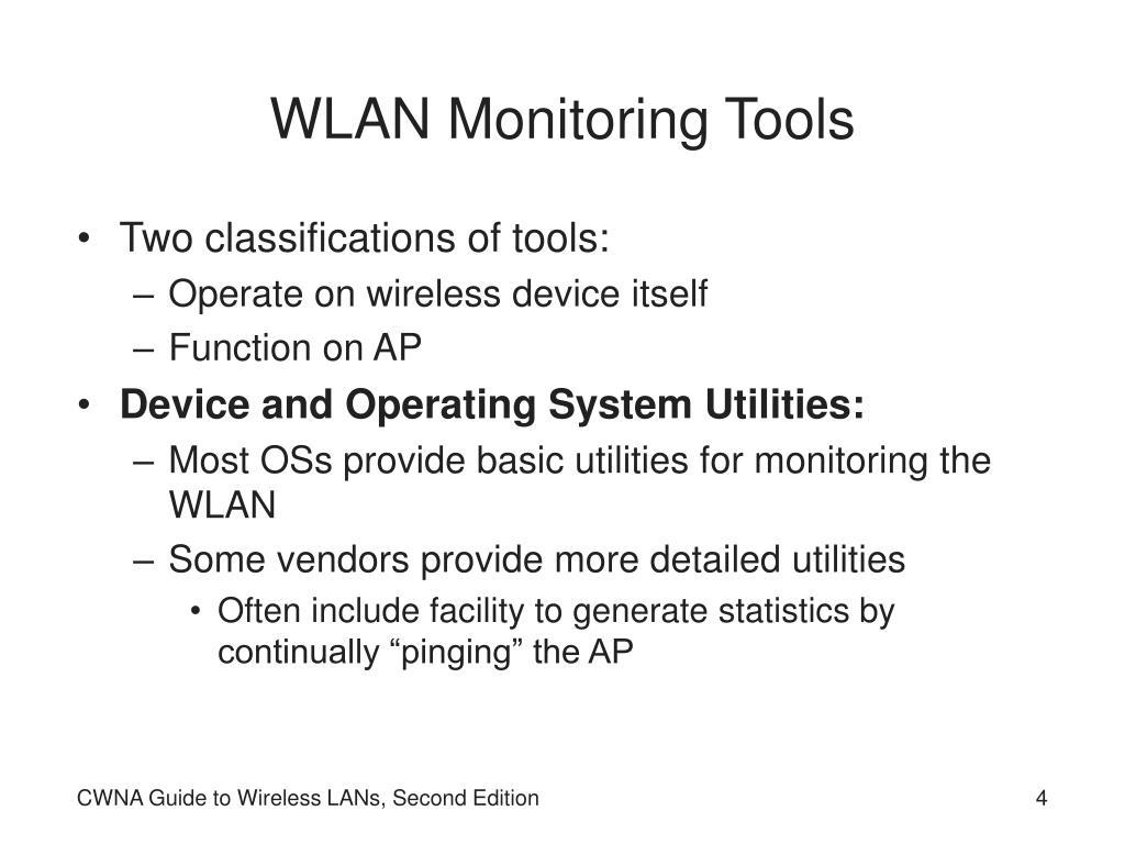WLAN Monitoring Tools