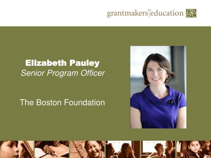 Elizabeth Pauley