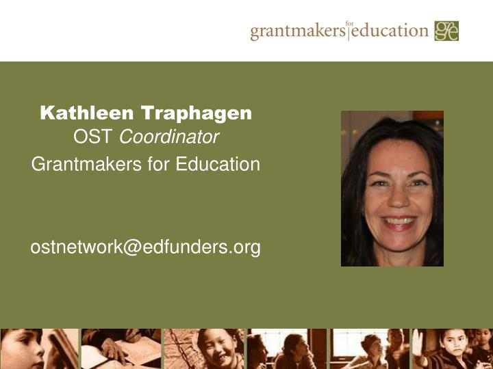 Kathleen Traphagen