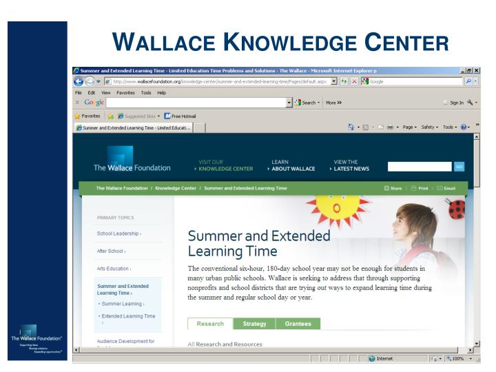 Wallace Knowledge Center