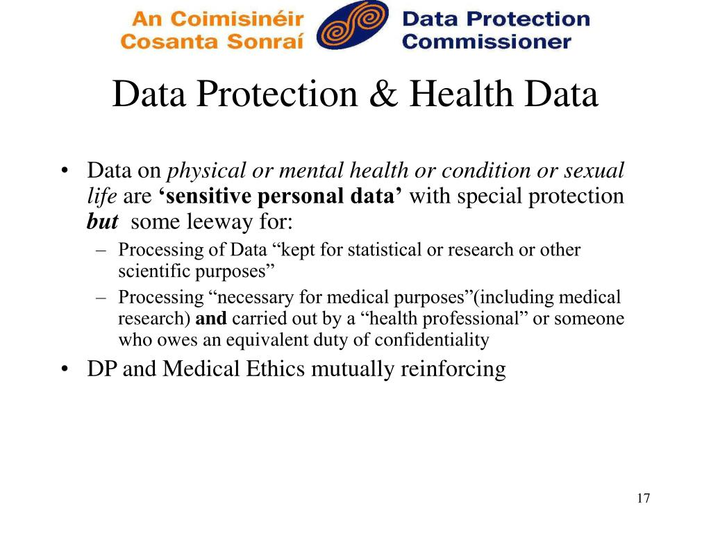 Data Protection & Health Data