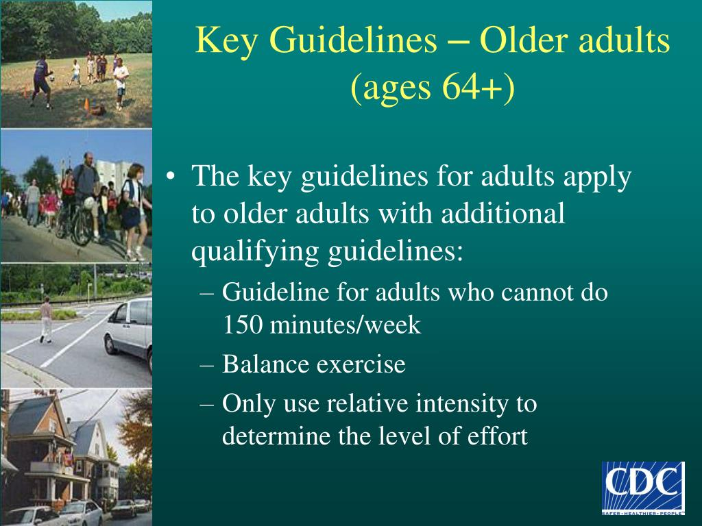 Key Guidelines