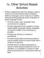 1c other school based activities