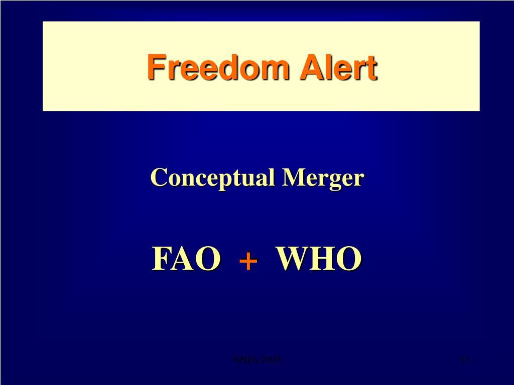 Freedom Alert