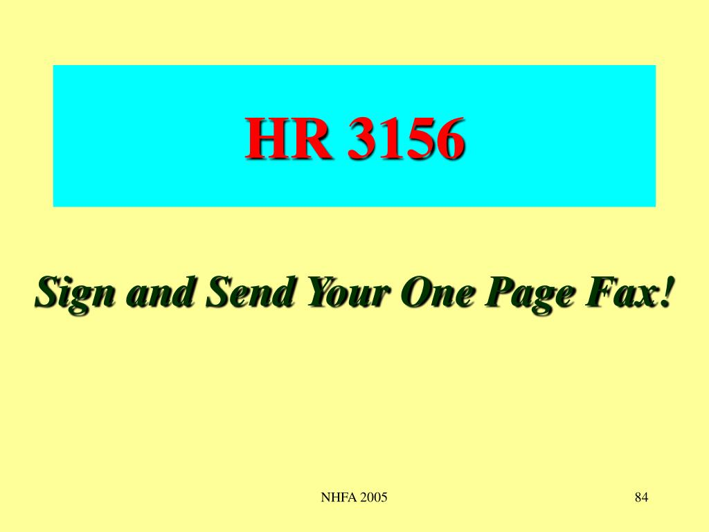 HR 3156